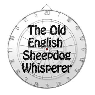 el viejo whisperer inglés del perro pastor