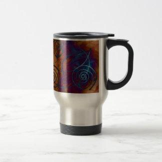 El viento taza de café