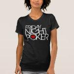 El viernes por la noche póker camisetas