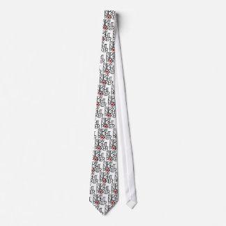 El viernes por la noche póker corbatas personalizadas