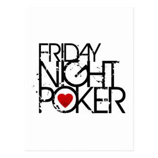 El viernes por la noche póker postal