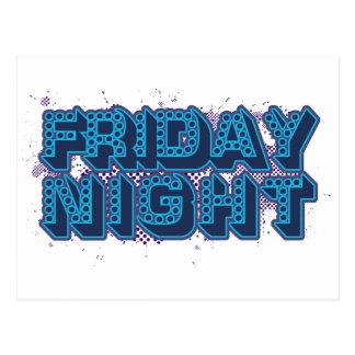 El viernes por la noche postales