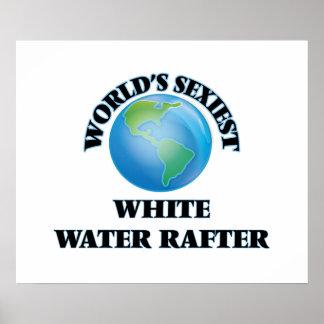 El viga más atractivo del agua blanca del mundo póster