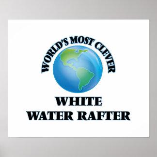 El viga más listo del agua blanca del mundo póster