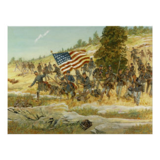 El vigésimo Maine de H. Charles McBarron Póster