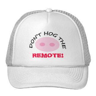 El vigilante de la TV no hog el gorra rosado lindo