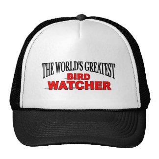 El vigilante del pájaro más grande del mundo gorros bordados