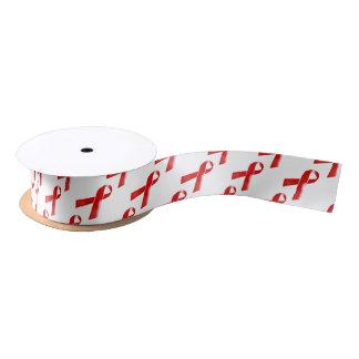 El VIH ayuda a conciencia roja de la cinta Lazo De Raso