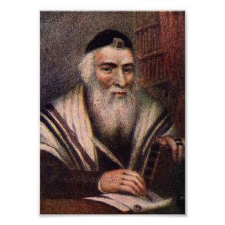 El Vilna Gaon - rabino Elías de Vilna Fotografías