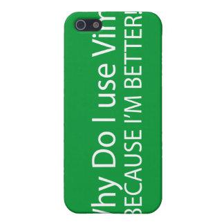 El Vim es apenas mejor iPhone 5 Carcasas