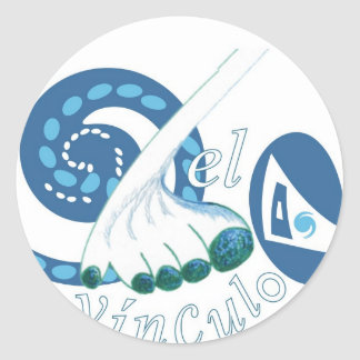El Vinculo Classic Round Sticker
