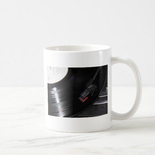 El vinilo no es muerto taza de café