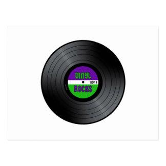 El vinilo oscila LP Postal