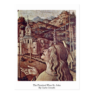 El vino acabado St. John de Carlo Crivelli Postales