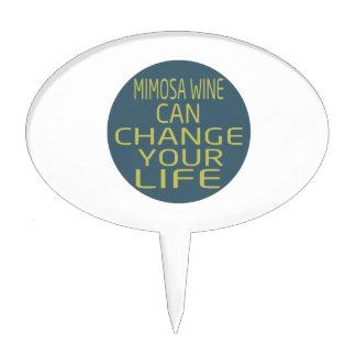 El vino del Mimosa puede cambiar su vida Decoración De Tarta