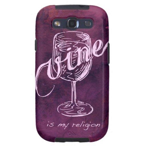 ¡El vino es mi religión! Galaxy S3 Cobertura