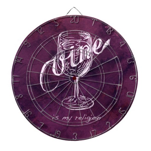 ¡El vino es mi religión! Tabla Dardos