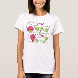 El vino mejora con edad playera