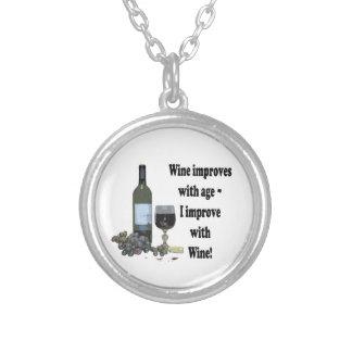 ¡El vino mejora con edad, yo mejora con el vino! Joyerias