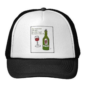 El VINO MEJORA CON la impresión del vino de la EDA Gorro De Camionero