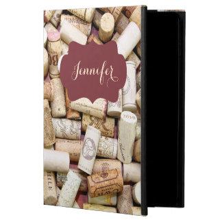 El vino tapa la caja de encargo del aire con