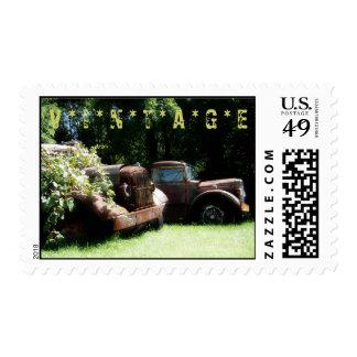 El vintage acarrea sellos