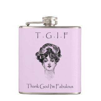 El vintage agradece a dios que soy frasco fabuloso