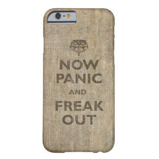 El vintage ahora se atierra y Freak hacia fuera Funda Para iPhone 6 Barely There