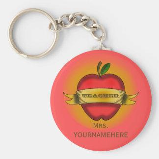 El vintage Apple del Llavero del profesor tatúa