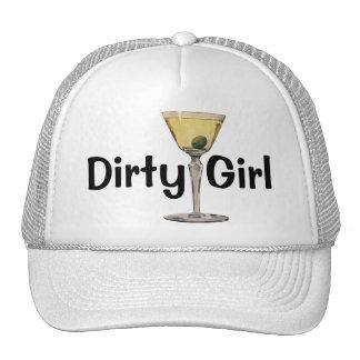 El vintage bebe la aceituna de Martini del cóctel Gorro