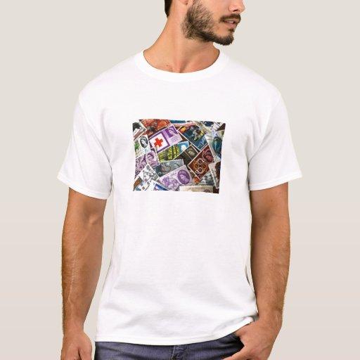 El vintage británico sella la camiseta adulta