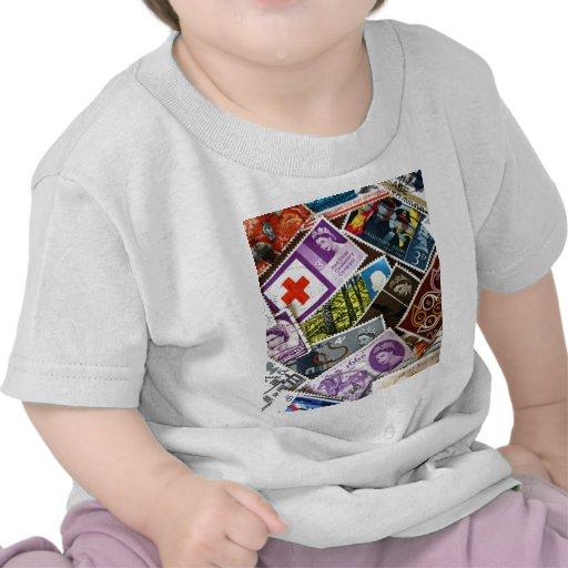 El vintage británico sella la camiseta infantil