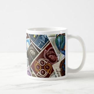 El vintage británico sella la taza