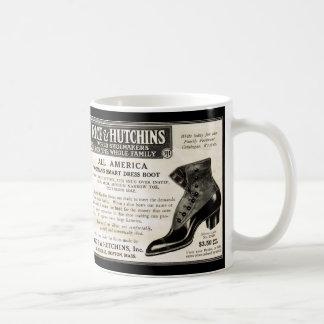 El vintage calza la taza de café del Victorian del