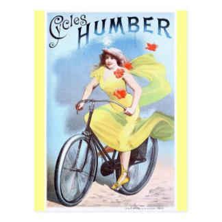 El vintage completa un ciclo el ciclo de la mujer  tarjetas postales