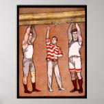 El vintage de $cox del Rowing se divierte fila del Posters