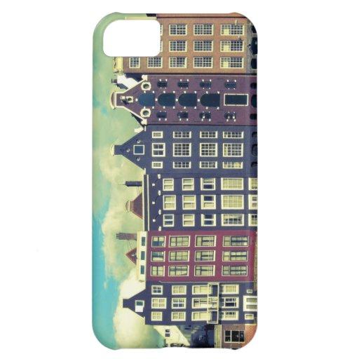 El vintage de Holanda contiene la caja del iphone Funda Para iPhone 5C