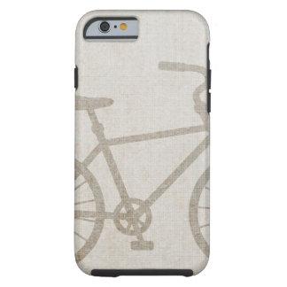 El vintage de la bici se divierte destino del amor funda de iPhone 6 tough
