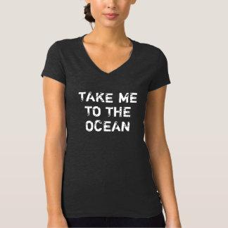 El vintage de las mujeres me lleva al océano remeras