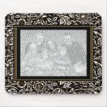 """El vintage de Mousepad """"AÑADE marco adornado de su Tapete De Raton"""