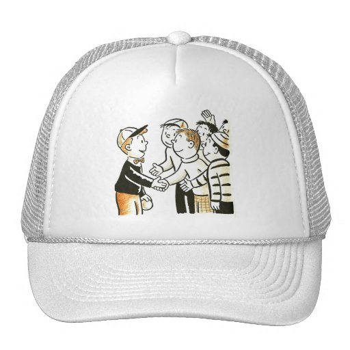 El vintage del kitsch embroma a buenos compinches gorra