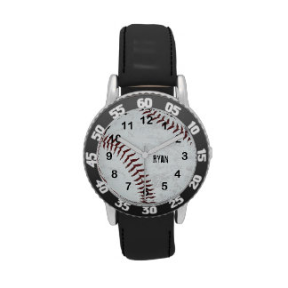 el vintage diseñó la bola del béisbol - costura reloj