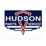 El vintage el Hudson parte la muestra Postal