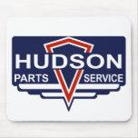 El vintage el Hudson parte la muestra Alfombrillas De Raton