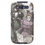 El vintage elegante de las mujeres del Victorian f Samsung Galaxy SIII Funda