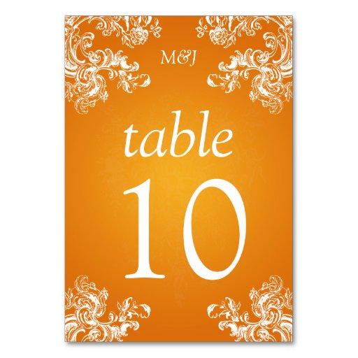El vintage elegante del número de la tabla remolin
