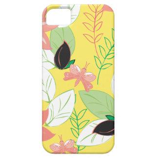 El vintage elegante florece las cajas vol 25 del iPhone 5 Case-Mate protectores