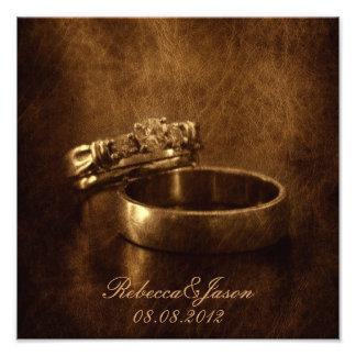 el vintage elegante suena el aniversario de boda d fotografías