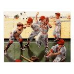 El vintage embroma béisbol