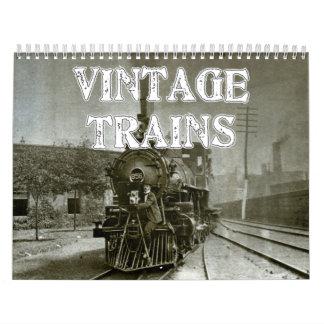 El vintage entrena al calendario